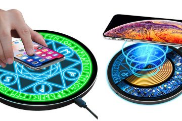 Magical Wireless Charging Pad With Light Display