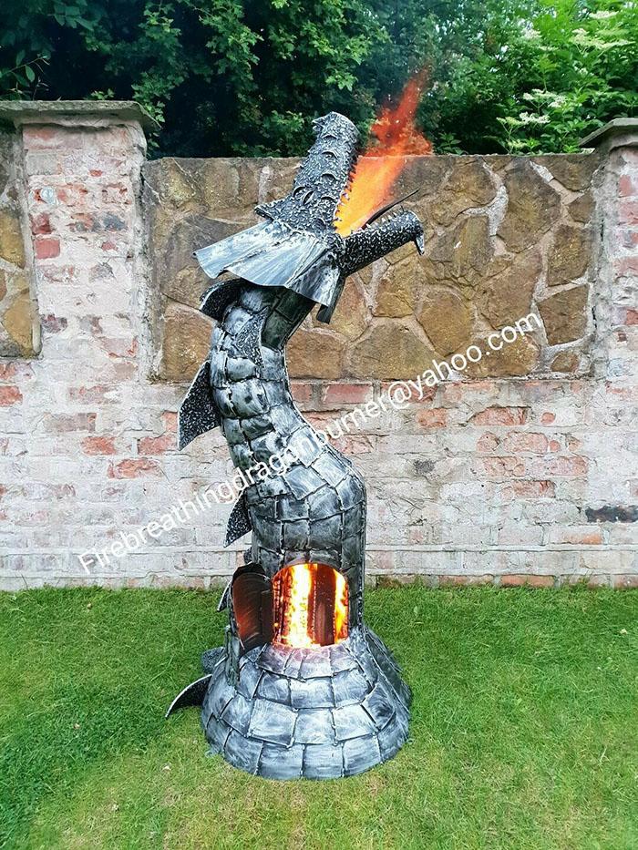 dragon wood burning stove