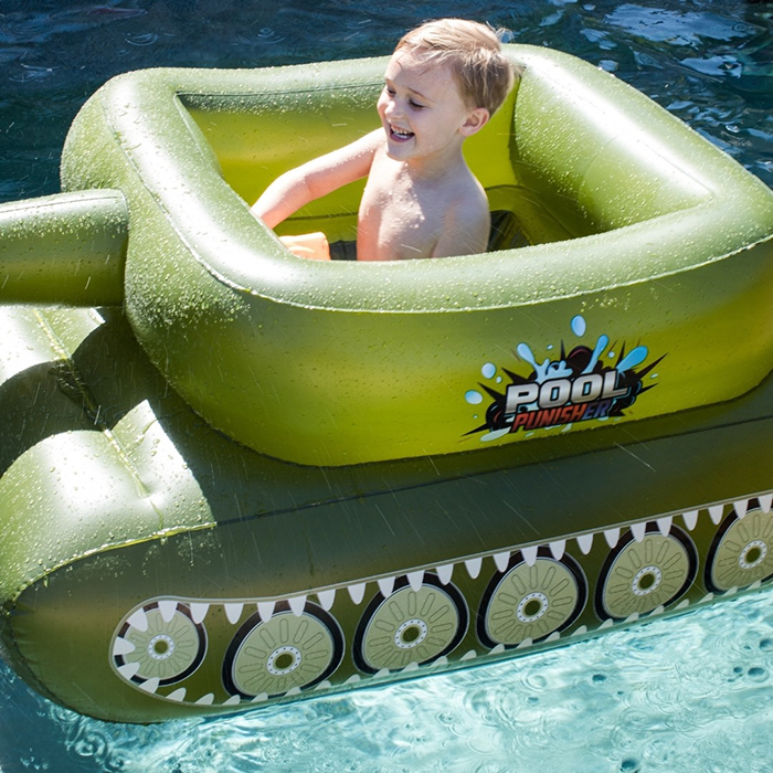inflatable combat vehicle swimming toy for kids and adults