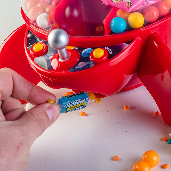 rcoket candy grabber claw machine