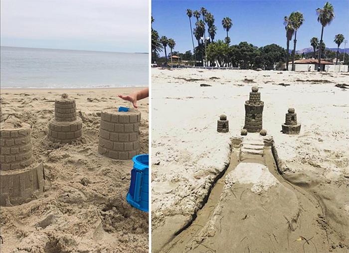sand castles building kit