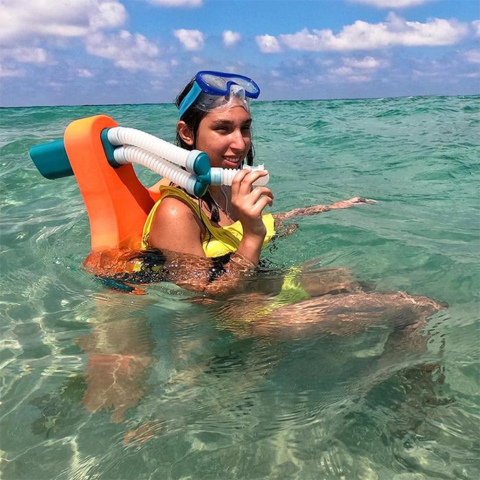 snorkel stabilization system effortless floating