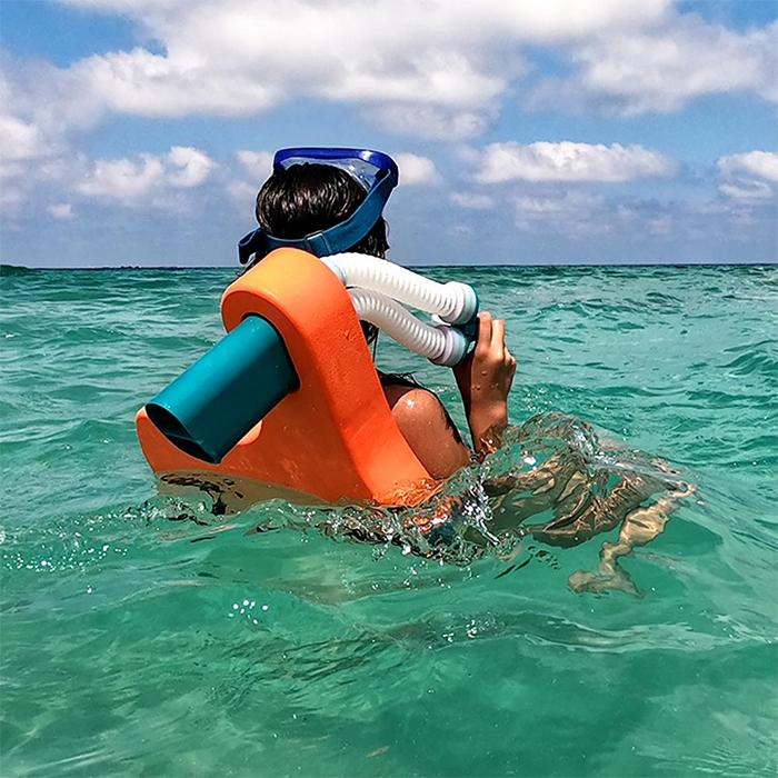 snorkeling buoyancy aid vest tube googles