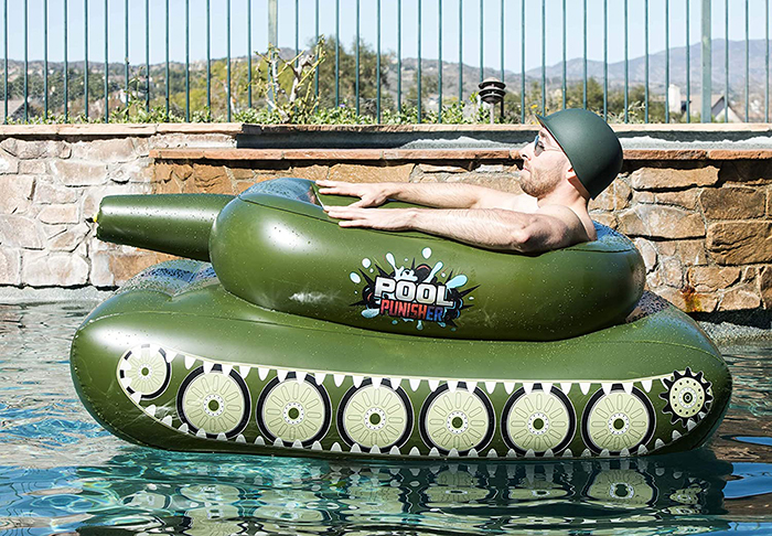 tank pool float for kids and adults