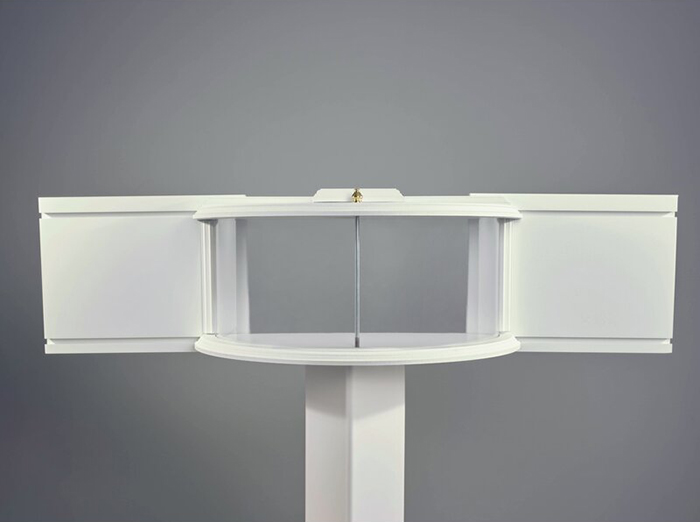 window-mounted in-house critter food tray