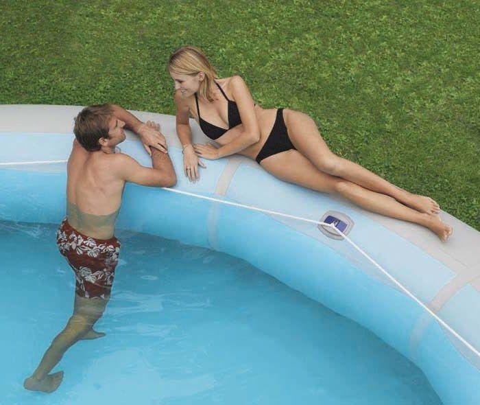 zodiac hippo giant inflatable pool