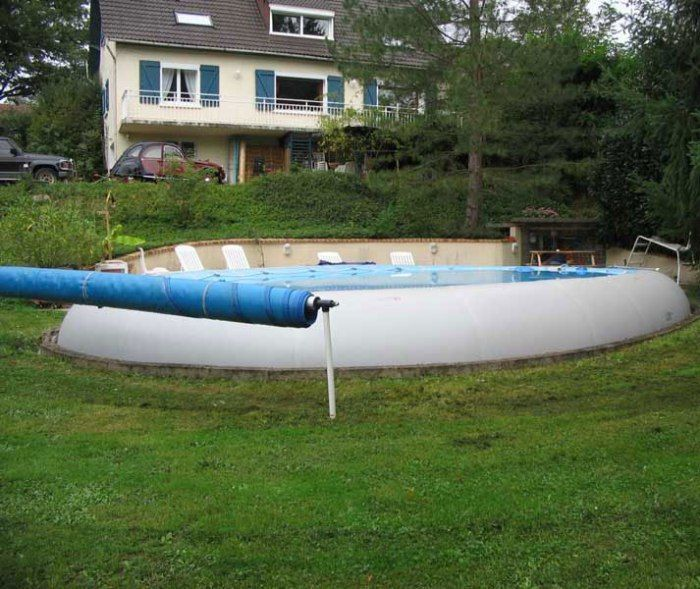 zodiac ovline original giant inflatable oval pool
