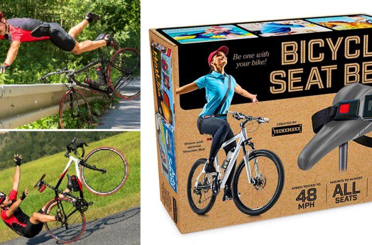 Bicycle seat belt