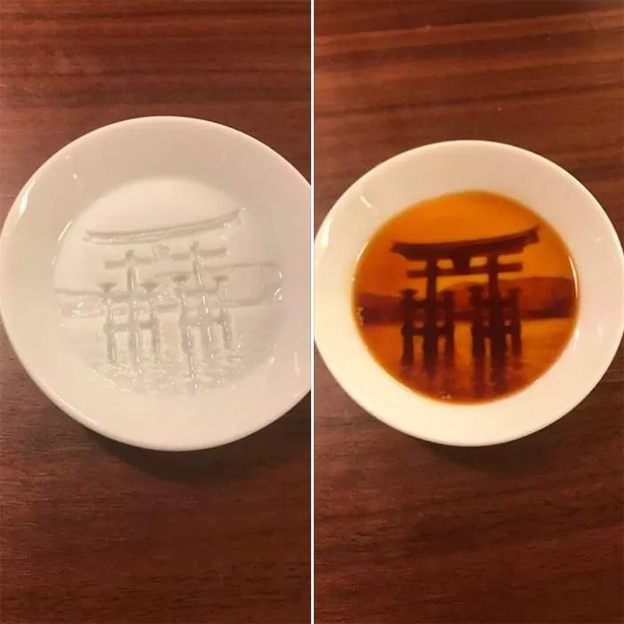 brilliant designs sauce dish hidden shrine