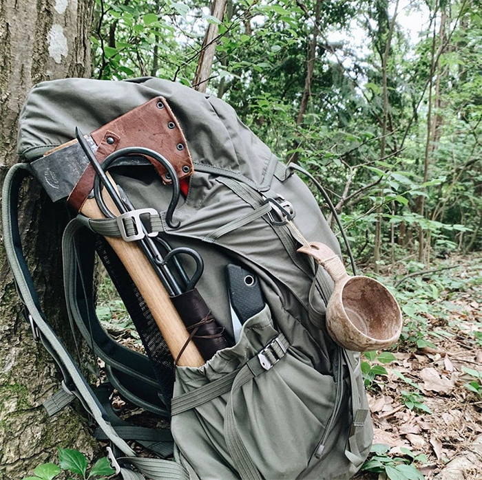 bushcraft gear camping