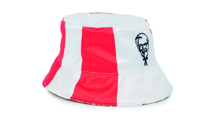 colonel sanders bucket hat