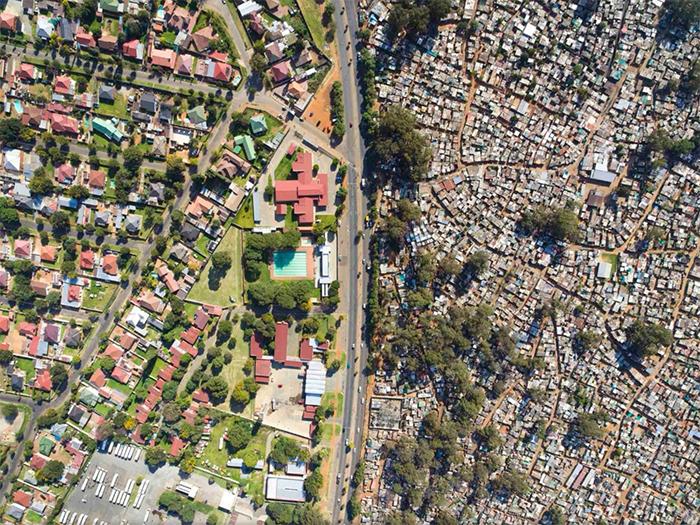 comparison images class disparity south africa