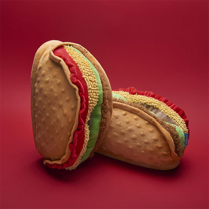 cushioned taco slippers