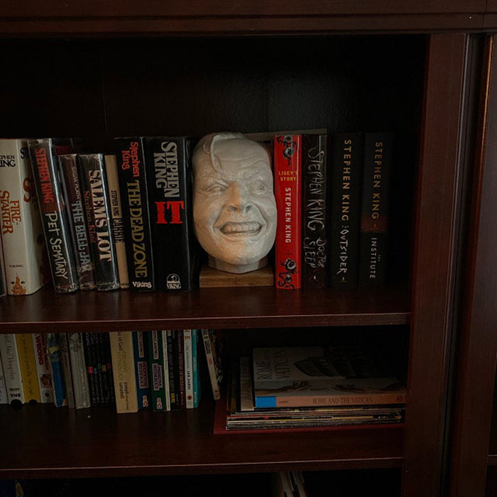 customer review clark jack nicholson here's johnny book stopper