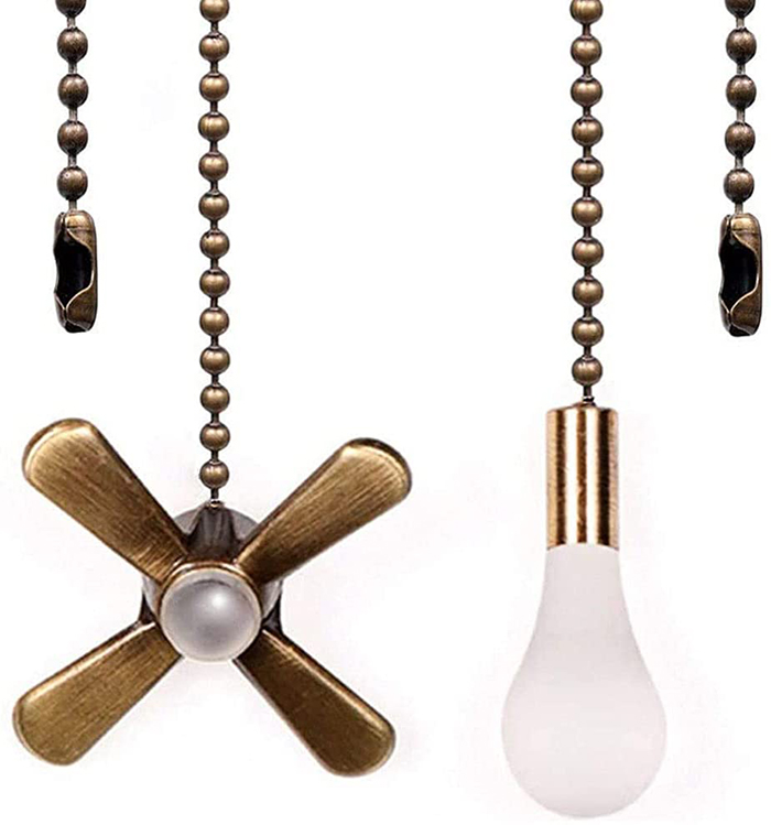 decorative ceiling fan pull switch ornaments