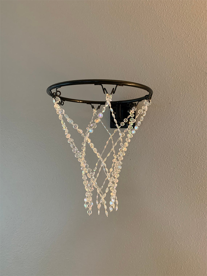 gemstone net with black rim