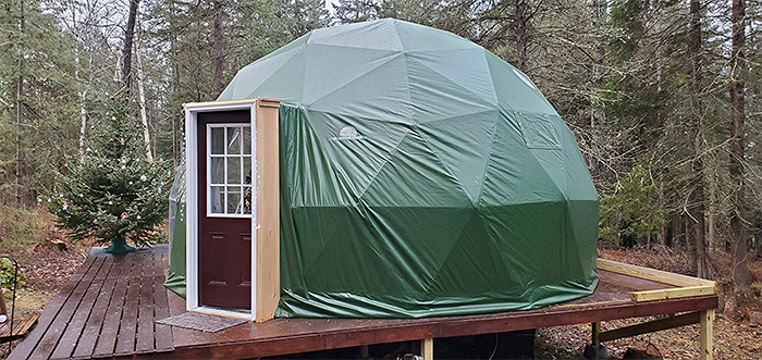 glamping pod polyester cover