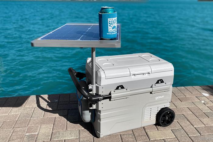 gosun chillest elbow solar table attachment