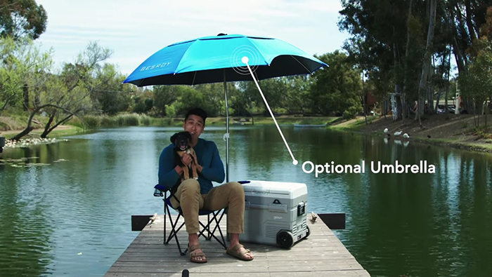 gosun chillest optional umbrella attachment