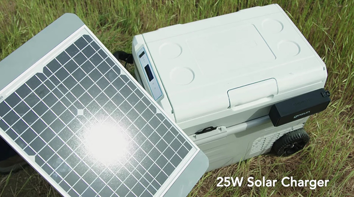 gosun chillest solar-powered cooler charger