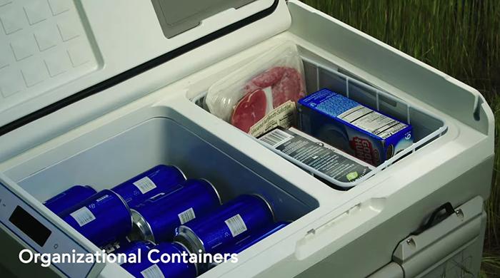 gosun chillest solar-powered cooler organizational cabinets