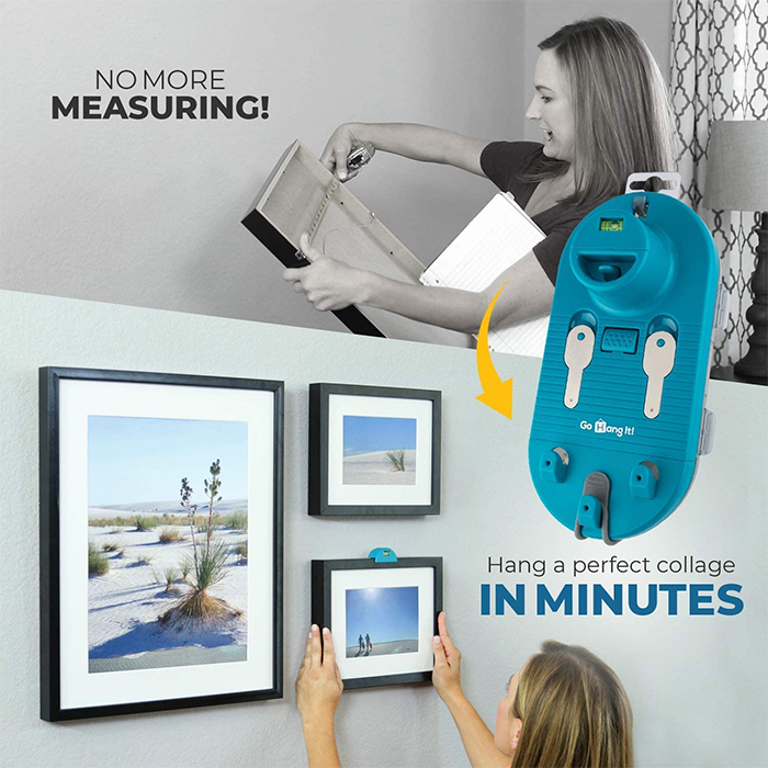 hanging pictures made easy tool