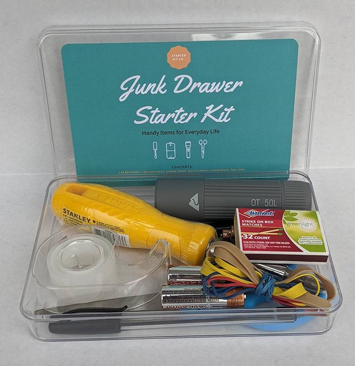 junk drawer starter kit housewarming gift
