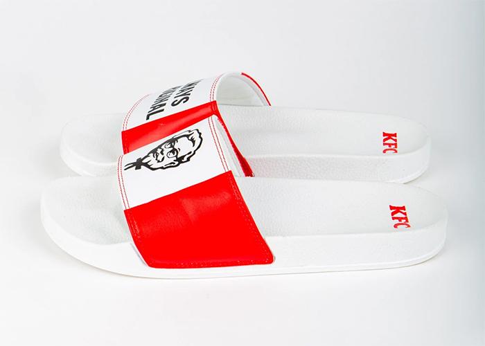 kfc red and white sliders