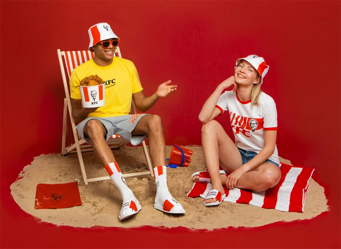 kfc summer fashion line