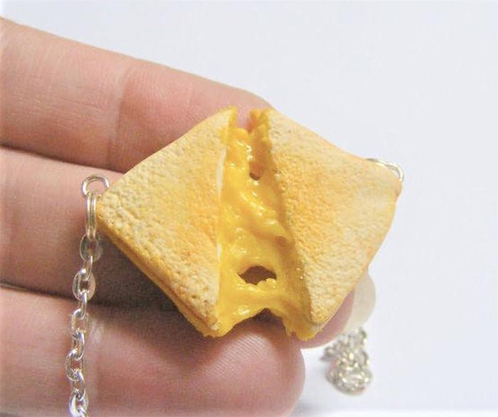 miniature food pendant