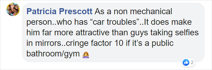 patricia prescott facebook comment on photos of guy with actual filters