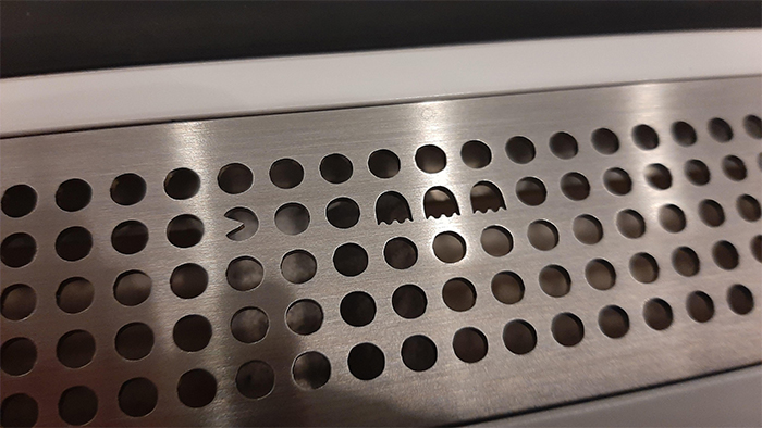 subway air vent pacman easter egg