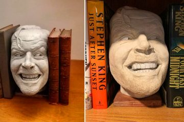 the shining Here's Johnny bookend