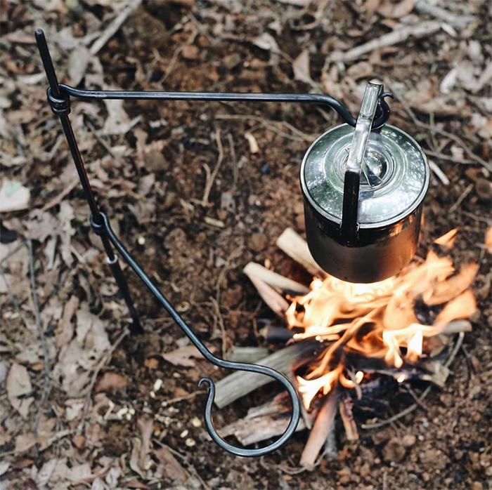 versatile campfire cooking equipment