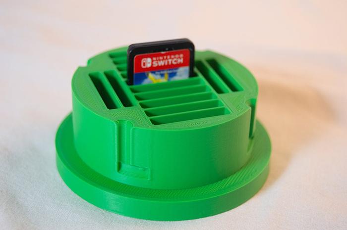 whopper printing mario warp pipe nintendo switch game cartridge case