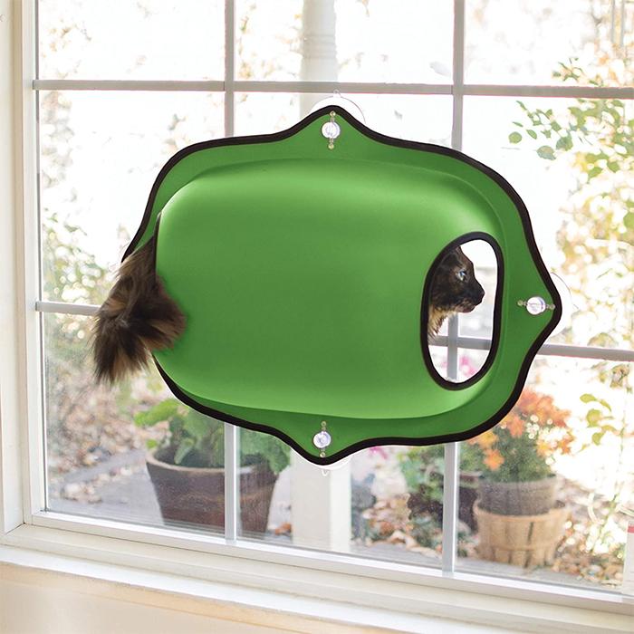 window mount cat bed