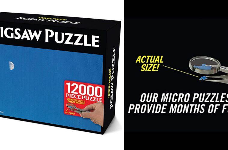 12,000-Piece Jigsaw Puzzle