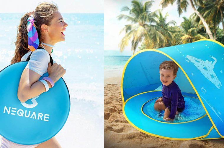 Baby Pool Beach Tent