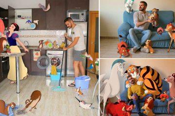 Photoshop Disney Characters