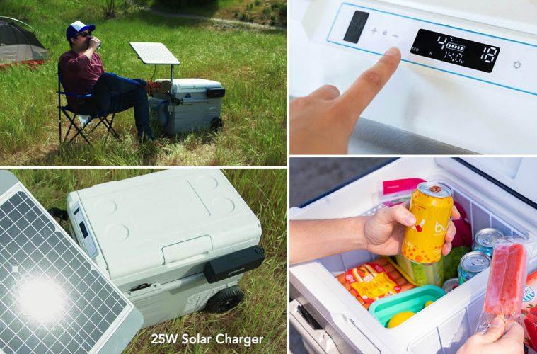 Solar-Powered Cooler
