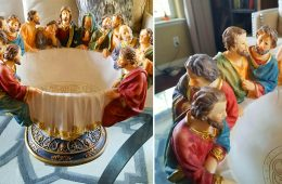 The Last Supper Fruit Bowl