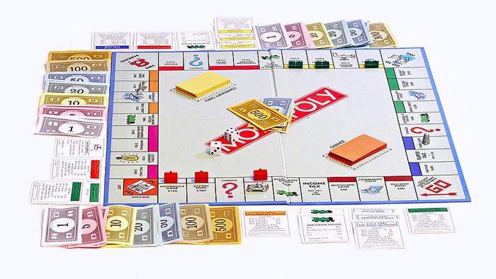 classic monopoly board