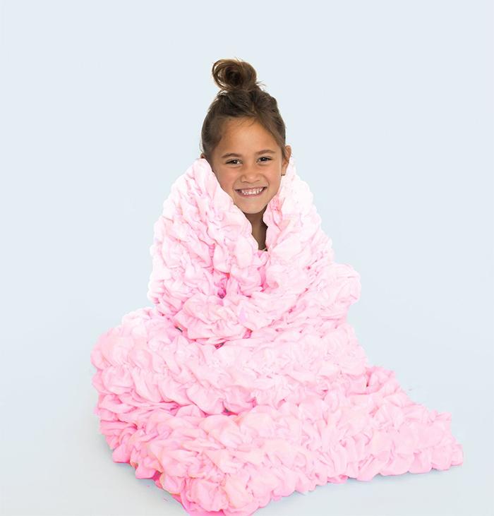 cocoon sleeping bag light pink