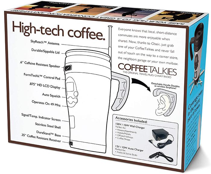 coffee talkies prank gift box back