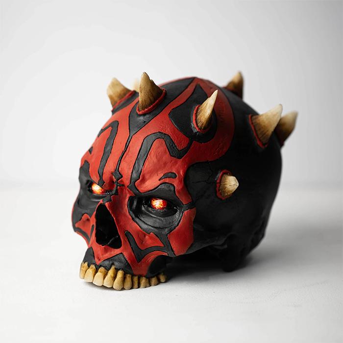 darth maul skull sculpture
