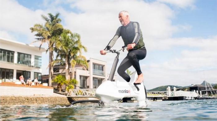 hydrofoil e-bike all water-terrain