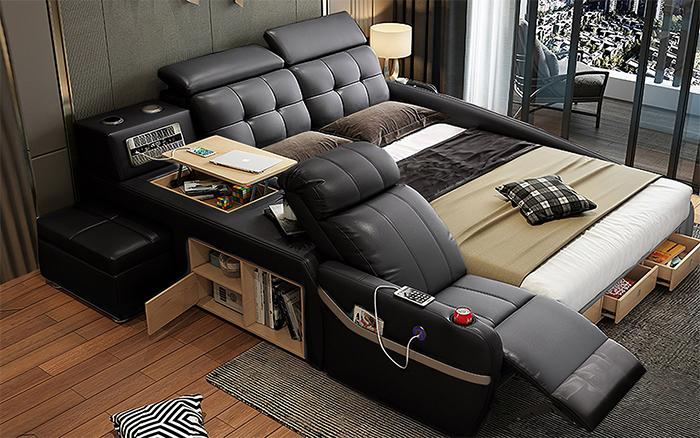 jubilee furniture monica all-in-one smart bed black
