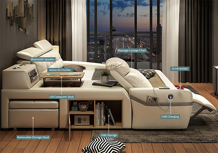 jubilee furniture monica all-in-one smart bed features