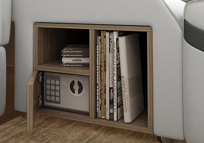 jubilee furniture monica multifunctional sleeping furniture built-in bookshelf