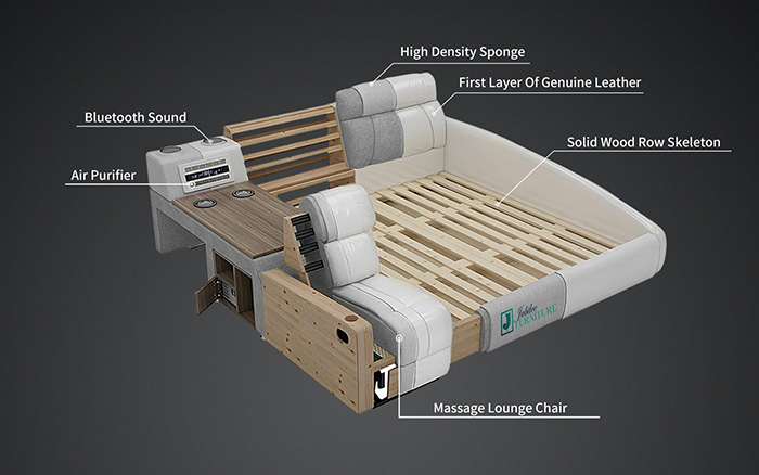 jubilee furniture monica multifunctional sleeping furniture features